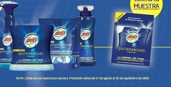 muestra cosmeticos gratis: