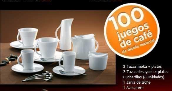 Caf bonka de nestl te invita a ganar un bonito juego de for Juego de tazas de te