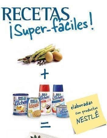 Recetario Gratis de Nestle