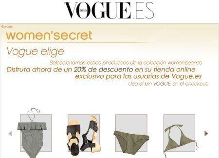 Cupones Descuento VOGUE Women Secret