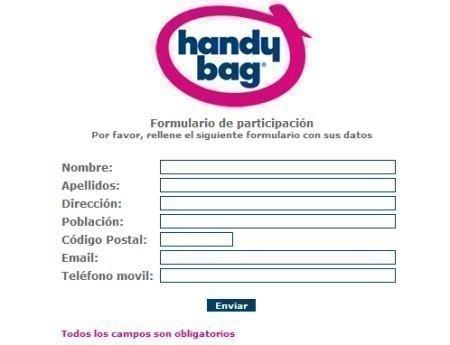 Muestras gratis bolsas recicladas