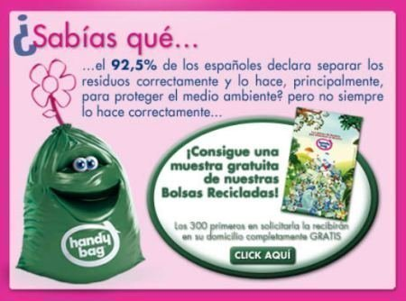 Muestras Gratis de bolsas de residuos Cofresco