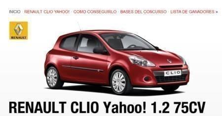 Sorteo de coche Renault Clio