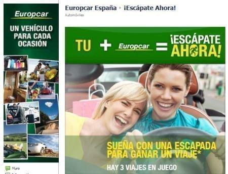 Sorteo de Escapadas Europcar