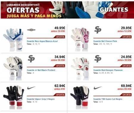 f16123969a1ef Guantes de fútbol en oferta – Regalos y Muestras gratis