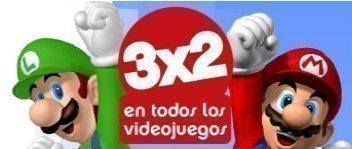 Oferta Videojuego 3x2