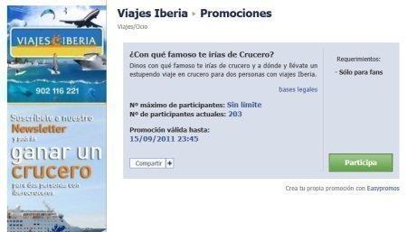 Sorteo Gratis de Crucero Iberia