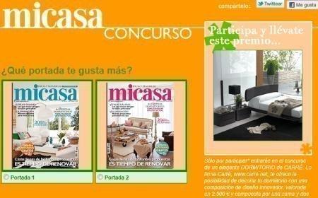 Gana Un Juego De Dormitorio De Euros Con Revista Mi
