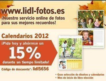 Cupones Descuento Calendarios 2012