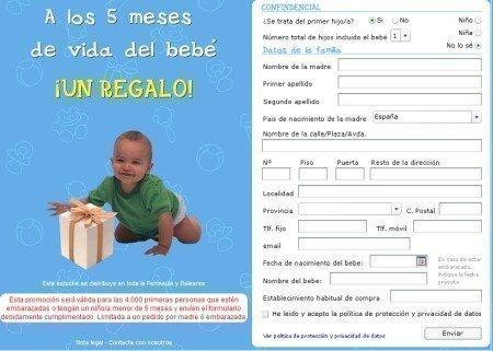 000 canastillas gratis para bebés al mes – Regalos y Muestras