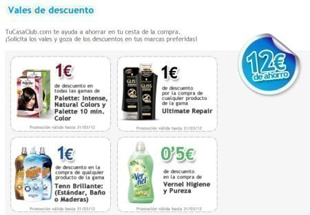 Nuevos cupones descuento de 12 euros – Regalos y Muestras gratis