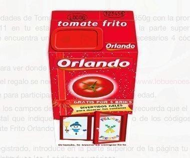 Promoción Tomate Frito Orlando