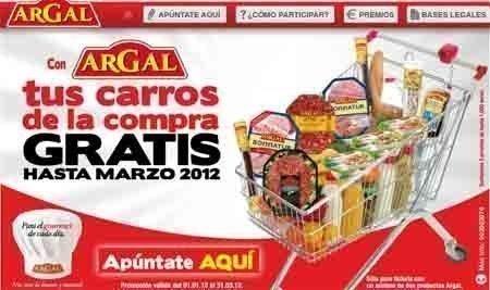 bce35d0dd Consigue tus carritos de la compra gratis hasta marzo con Argal ...