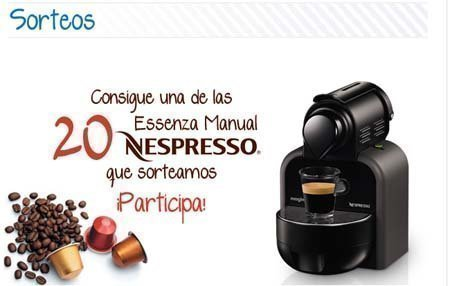 Club central lechera asturiana sortea 20 cafeteras for Nespresso firma