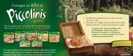 Sorteo de Pizzas Buitoni