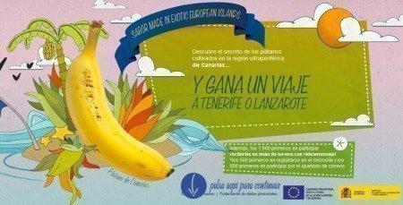 Muestras gratis Platano de Canarias