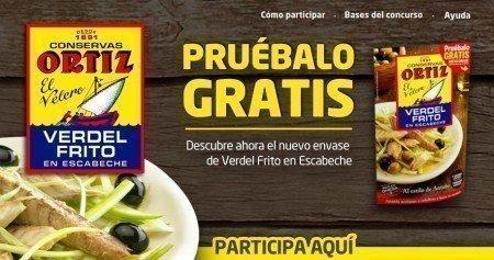 Muestras Gratis de Verdel Frito Ortiz