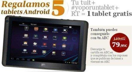 Ganar Tableta Android Gratis