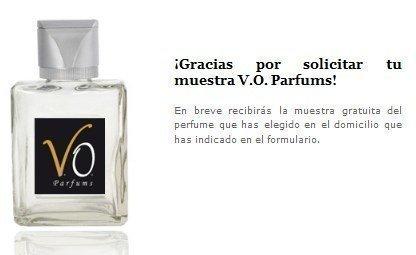muestras gratuitas de perfumes a domicilio