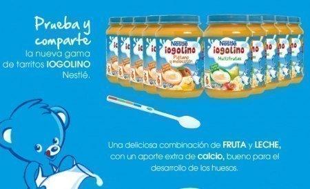 Muestras Gratis Iogolino de Nestle