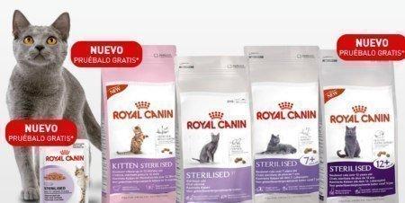 Muestras gratis de alimento para gatos esterilizados - Alimento para gatos esterilizados ...