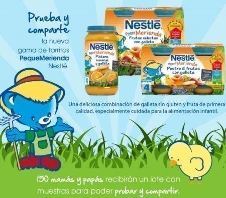 Muestras Gratis Pequemerienda Nestle