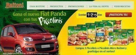 Sorteo de coche Fiat Panda