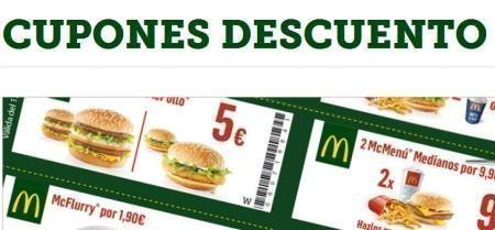 Cupones Descuento McDonalds