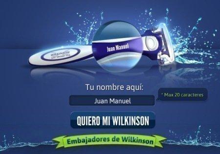 Muestras gratis Wilkinson