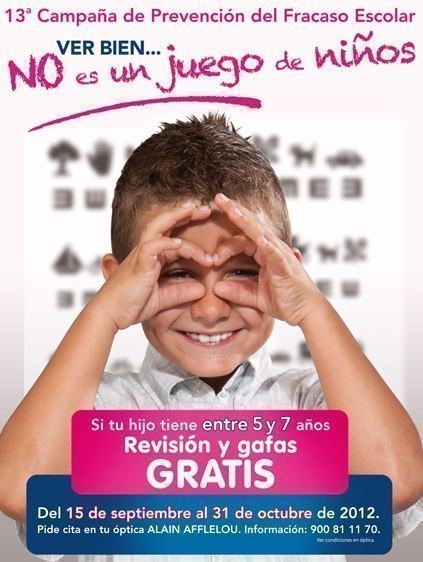 Promocion Gafas Gratis Alain Afflelou