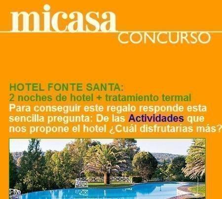 Promocion Revista Mi Casa Gana Una Estancia En El Hotel