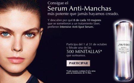 Muestras Gratuitas de serum Antimanchas de shiseido