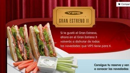 Oferta Grupo VIPS