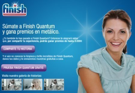 Muestras Gratis Finish