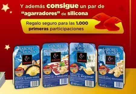 Regalo Gratis pastas Gallo