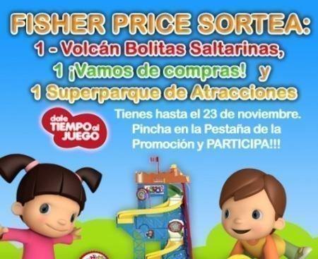 Sorteo Fisher Price