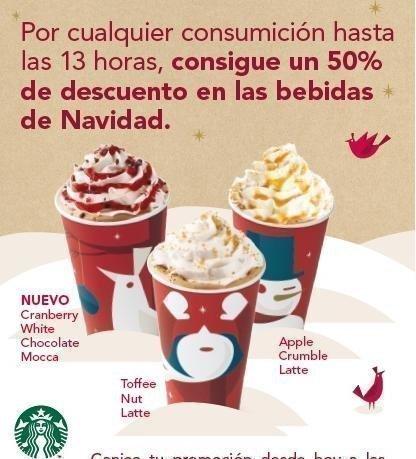 Cupones Descuento Starbucks