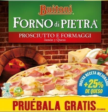 Muestras Gratis Pizzas Buitoni