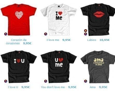 Cupones Descuento Camisetas San valentin