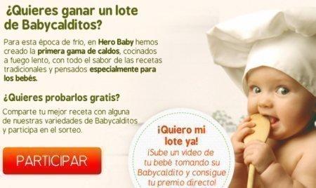 Muestras gratis Hero Baby Calditos