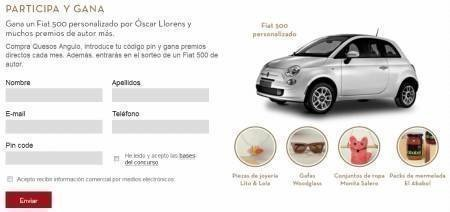 Sorteo Gratis de Automovil Fiat