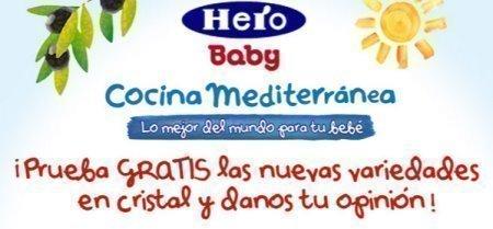 Muestras gratis de Hero Baby Cocina Mediterranea