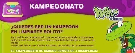 Muestras gratis Kandoo Dodot Ranitas