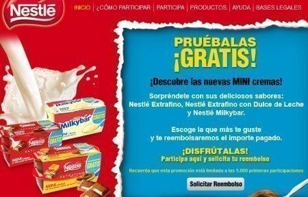 Muestras Gratis Nestle