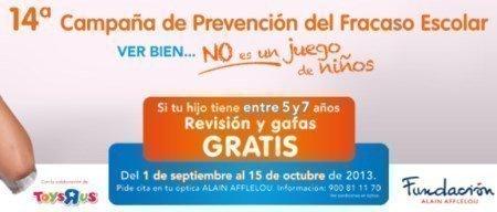 Gafas Gratis Fundacion Alain Afflelou