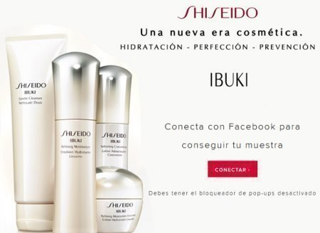 muestras gratis shiseido