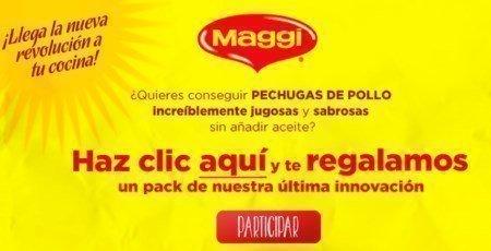 Muestras gratis de Maggi