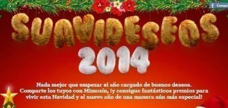 Sorteo Mimosin Navidad 2014