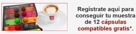 Muestras gratis de cabu cafe