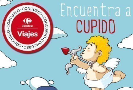 Sorteo Gratis de Viajes Carrefour San Valentin
